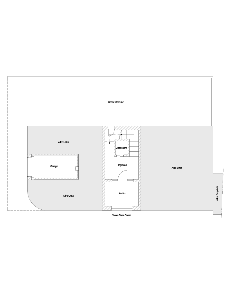 Piano terra, Garage A