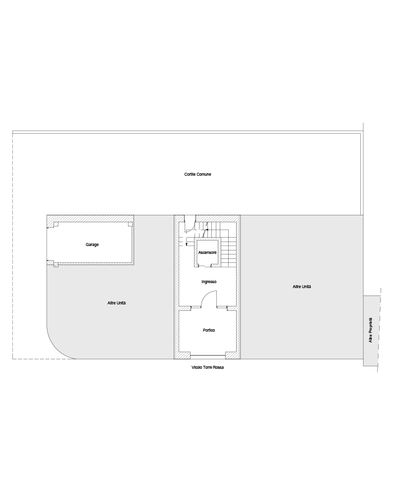 Piano terra, Garage B