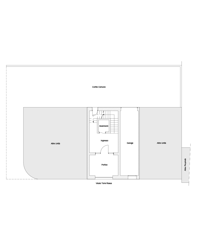 Piano terra, Garage D